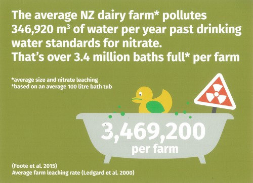 Dairy farm pollution